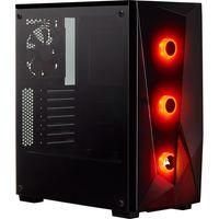 Corsair Carbide SPEC-DELTA RGB - Midi-Tower - PC - Stahl - Gehärtetes Glas - Schwarz - ATX - Multi