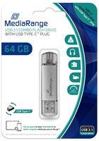 USB Stick 3.1 + TypeC  2in1 64 GB