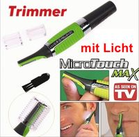 GKA Micro Touch MAX Haartrimmer Herren Nasenhaar Trimmer Augenbrauen Rasierer Ohren Nase Augenbrauentrimmer