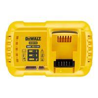 DeWALT Schnellladegerät DCB118-QW für 18 V und 54 V - Ladegerät mit LED-Anzeige