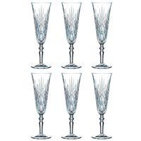 Nachtmann 0092953-0 Palais Sektkelch 140 ml, Kristallglas, klar (6 Stück)