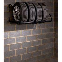 Mottez B055P Wandhalter Für 4 Reifen