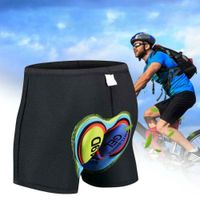 Herren 3D Gepolstert Fahrrad Radlerhose Unterwäsche Unterhose Sitzpolster G9W5