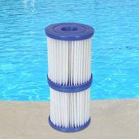 Bestway Filter für Pool Pumpen 3x2er Gr. 1 - 6 Stück