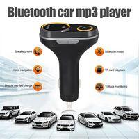 Auto Bluetooth FM Transmitter Wireless Radio MP3 Player Adapter USB Ladegerät