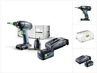 Festool T 18+3 Li-Basic Starter Akku Bohrschrauber 18V 50Nm Brushless + 1x Akku 5,2Ah + Ladegerät + systainer
