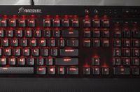 K70 LUX mechanische Gaming-Tastatur – Rote LED – CHERRY® MX Blue