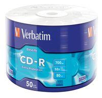 VERBATIM 43787 Extra Protection / Schutz CD-R 52X Rohling