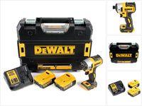 DeWalt DCF 887 P2 Akku Schlagschrauber 18V 205Nm Brushless + 2x Akku 5,0Ah + Ladegerät + TSTAK