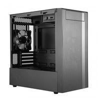 Cooler Master MasterBox NR400 - Mini-Tower - PC - Kunststoff - Stahl - Gehärtetes Glas - Schwarz - Micro ATX,Mini-ITX - Gaming