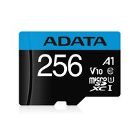 ADATA Premier - 256 GB - MicroSDXC - Klasse 10 - UHS-I - 100 MB/s - 25 MB/s