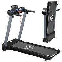 Artsport Laufband Speedrunner 2500 klappbar - 12 km/h & 12 Programme, LCD Display – Heimtrainer elektrisch 100 kg belastbar - Fitnessgerät 930 Watt