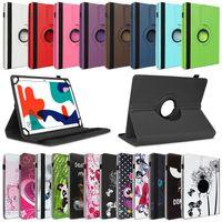 Tablet Hülle Huawei MatePad T10 9.7 Schutzhülle Tasche Cover 360° Drehbar Case, Farben:Schwarz