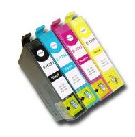 Druckerpatronen-Set kompatibel mit Epson T1295 XL - Je 1 x T1291, T1292, T1293, T1294 für Stylus Office B 42 WD,  BX 305 F,  BX 305 FW,  BX 305 FW Plus,  BX 320 FW,  BX 525 WD,  BX 535 WD,  BX 625 FWD,  BX 630 FW,  BX 630 Series,  BX 635 FWD,  BX 925 FWD,  BX 935 FWD, Stylus SX 230,  SX 235,  SX 235 W,  SX 420 Series,  SX 420 W,  SX 425 W,  SX 430 Series,  SX 430 W,  SX 435 W,  SX 438 W,  SX 440 Series,  SX 440 W,  SX 445 W,  SX 525 WD,  SX 535 WD,  SX 620 FW, WorkForce 525,  630,  WF-3010 DW,  WF-3500 Seri