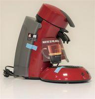 Philips Senseo Original XL  KaffeePadAutomat  Coffee Boost Technologie Rot