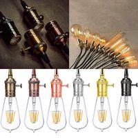 Lampen Fassung E27 E26 Vintage Lampensockel Metall Nostalgie Retro Leuchtmittel