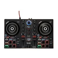 Hercules DJ Control INpulse 200, Farbe:Schwarz