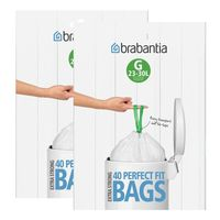 2x Brabantia Müllbeutel Spenderverpackung 30 l (G)40 Stück
