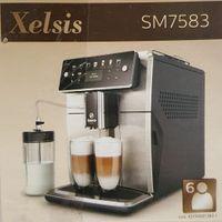 Saeco SM7583/00 Xelsis Kaffeevollautomat - edelstahl/schwarz - 1850W - 12 Kaffeespezialitäten