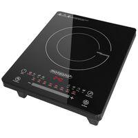 Monzana Induktionskochplatte 2000W Kochplatte Programmauswahl LED Touch-Display 80-240 Grad Timer Warmhaltefunktion, Model:mit 8 Programmen