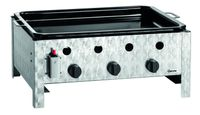 Gas-Tischbräter TB1000PF mit Grillpfanne, 3 Brenner