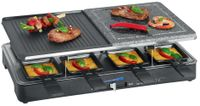 CLATRONIC Raclette Grill RG 3518 mit heissem Stein