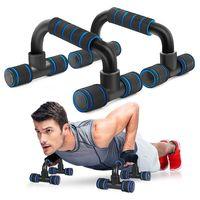 Liegestützgriffe,2er-Set Liegestütz Griff mit rutschfeste,Professional Push Up Bars für Muskeltraining und Krafttraining