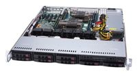 Supermicro SuperServer 1029P-MT - Intel® C621 - LGA 3647 (Socket P) - 10,4 GT/s - Intel® Xeon® - DDR
