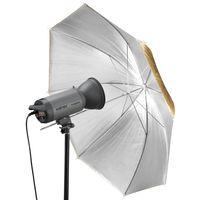 Walimex pro 2in1 Reflexschirm gold/silber, 109cm