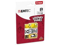 USB FlashDrive 8GB EMTEC Looney Tunes LT01 (3-PACK)