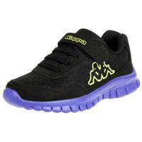 Kappa Jungen Sneaker Follow BC K Schuhe schwarz/blau, Schuhgröße:33 EU