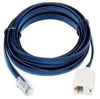 ISDN-Verlängerung 3m, Vollbeschaltet ISDN-Stecker -> ISDN-Kupplung