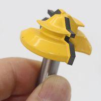 2 Stück Oberfräser Gehrung Verleimfräser 8mm Schaft, Hartmetalllegierung Material