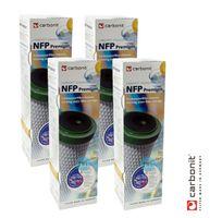 4x Carbonit NFP Premium Monoblock Filterpatrone 0,45 µm  *SPARPREIS*
