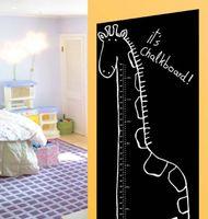 Wallies Kreidetafel-Aufkleber Giraffe Messlatte