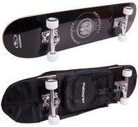 Skateboard Hudora Columbia Heights ABEC 3 mit Rucksack