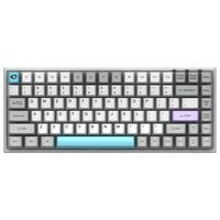 84 Tasten Mechanische Tastatur Dual mode Tastatur Hintergrundbeleuchtung Gaming Keyboard, Gelb Switch