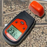 Holzfeuchtemessgerät Feuchtemessgerät Feuchtetester Materialfeuchte Brennholz Estrich F04