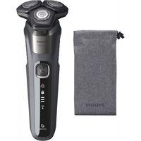 Philips S 5587/10 Series 5000 Akku-Rasierer grau, Farbe:Grau
