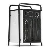 TROTEC Elektroheizer TDS 50 mit 9 kW, Mehrstufen-Temperaturregelung, Integriertes Thermostat für konstanten Warmluftstrom, Kondensfreie Wärme - kein Sauerstoffverbrauch - deshalb optimal zur Innenraumbeheizung geeignet
