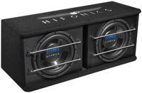 HIFONICS TD250R 2 x 25 cm Dual Bassreflex Subwoofer Kiste Basskiste