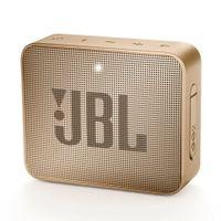 JBL Go 2 Tragbarer Bluetooth-Lautsprecher, Farbe: Champagner
