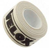Velox felgenband 16 mm / 2 Meter Baumwolle weiß pro Rolle