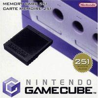 GameCube - Memory Card 251 Original