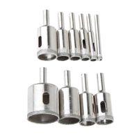 10 Stücke 6 32mm Diamant Bohrer Lochsäge Set Cutter Tool Für