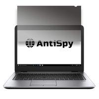 """14"""" Klebende Blickschutzfolie   Laptop Blickschutzfilter – 2 Anbringungsmöglichkeiten   Robust und Wiederverwendbar   Privacy-Filter – schnelle Befestigung   Notebook Sichtschutz-Folie   von AntiSpy"""