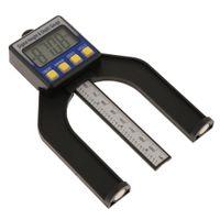 Digital Tiefenmesser Höhenmesser Holzbearbeitung Messgerät aus Kunststoff