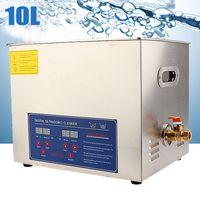 10L Ultrasonic Reinigungsgerät Ultraschallgeräte Ultraschall Reiniger mit Korb SUPER