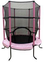 Joka 17861 Kinder Trampolin 140 cm mit Netz pink