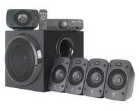Logitech Z906 5.1 Speaker System PC-Lautsprechersystem, 5 Aktiv-Lautsprecher, Subwoofer, 500 Watt RMS, Dolby Digital/THX, Funkfernbedienung